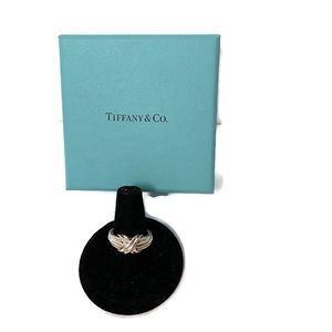 ⭐️ TIFFANY & CO RING STERLING SILVER 925 X SIZE 5